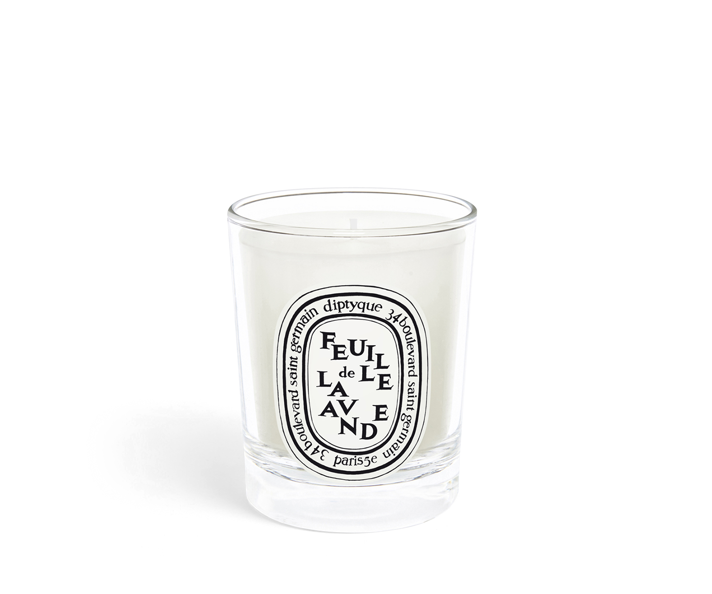 Feuille de Lavande / Lavendar Leaf small candle