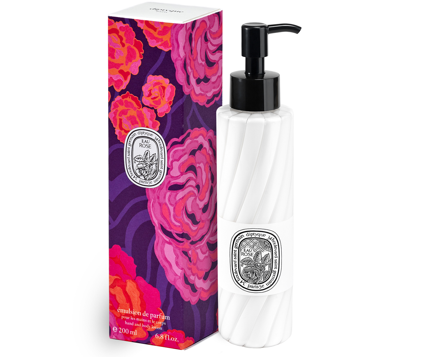 Eau Rose Hand and Body Lotion
