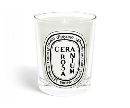 Rose Geranium / Geranium Rosa candle
