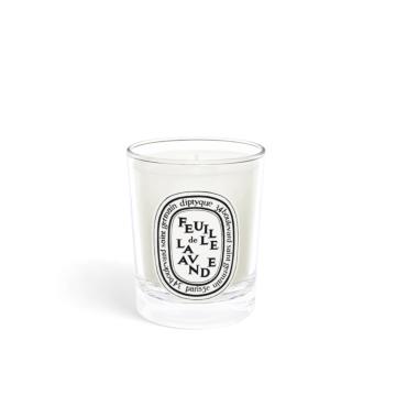 Feuille de Lavande / Lavender Leaf small candle