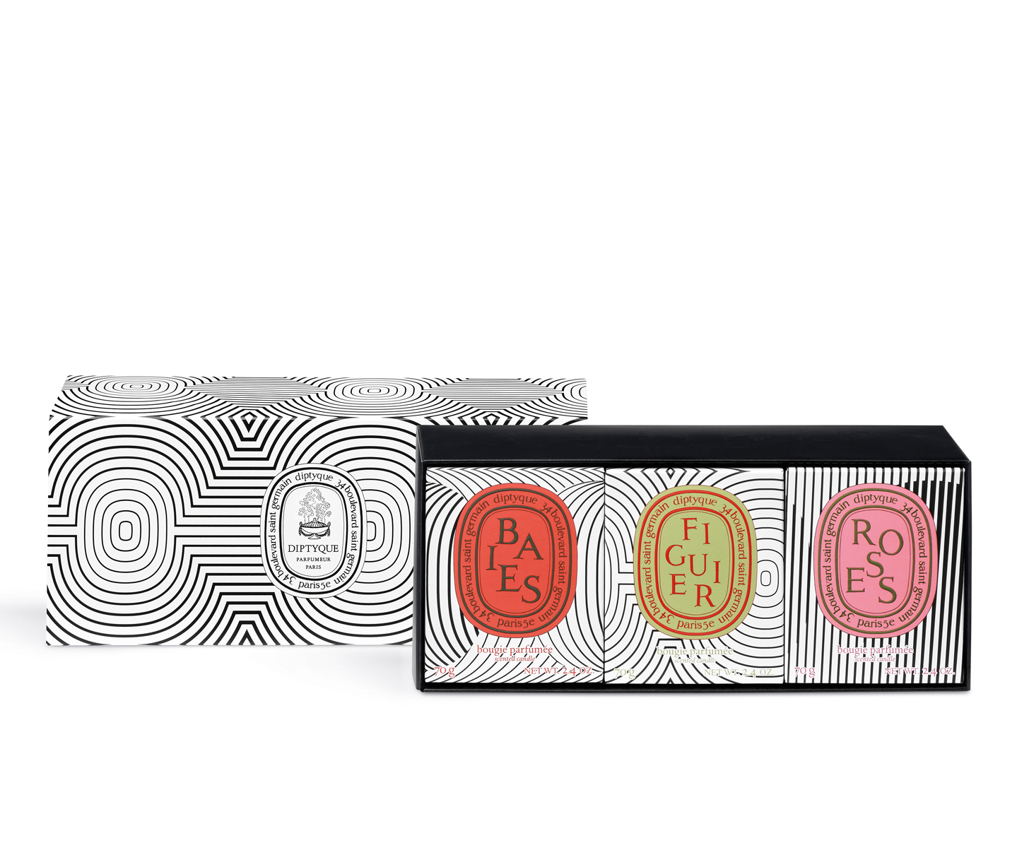 Limited edition gift set of small candles   Candle sets   Diptyque Paris