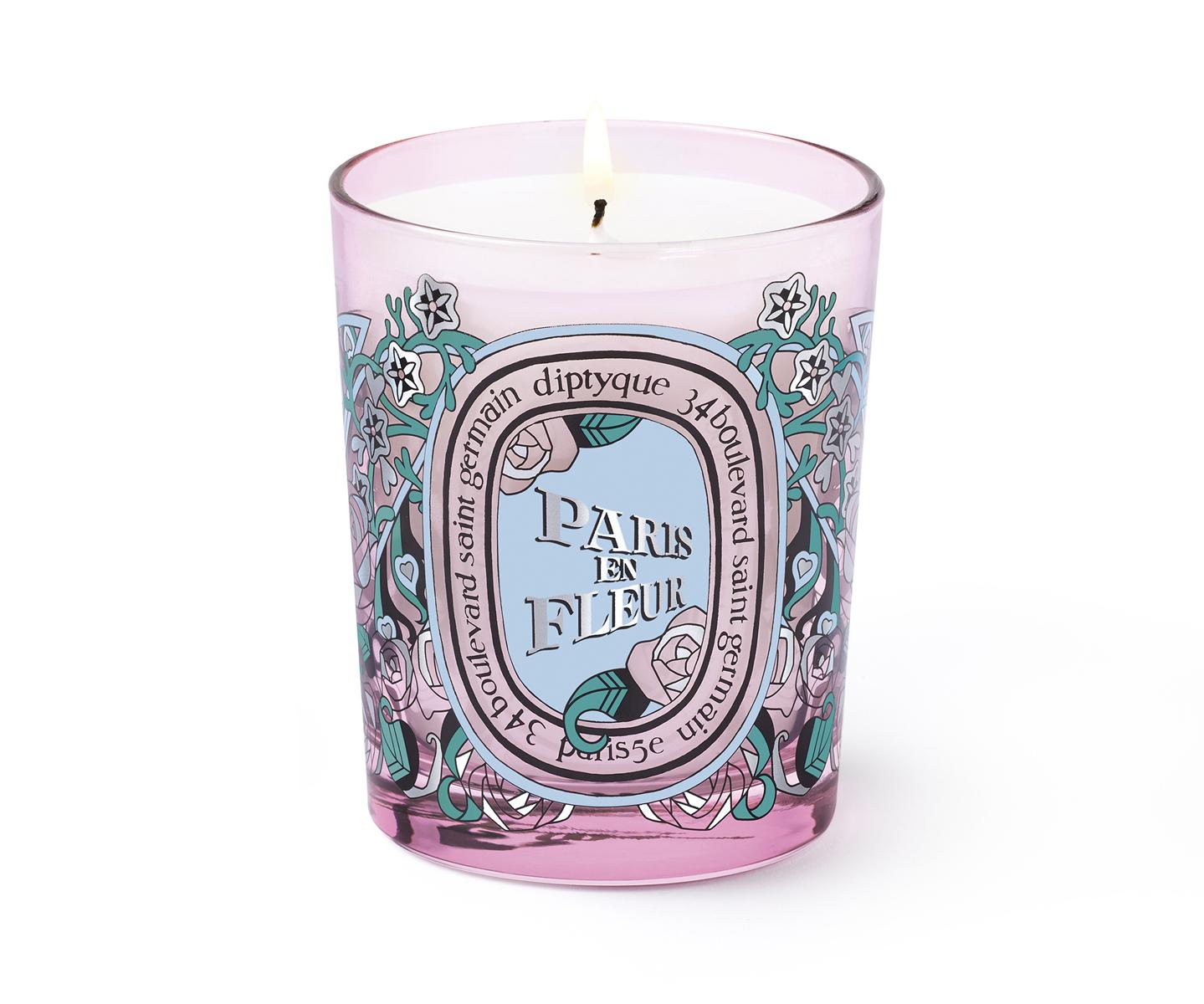 Paris En Fleur Candle