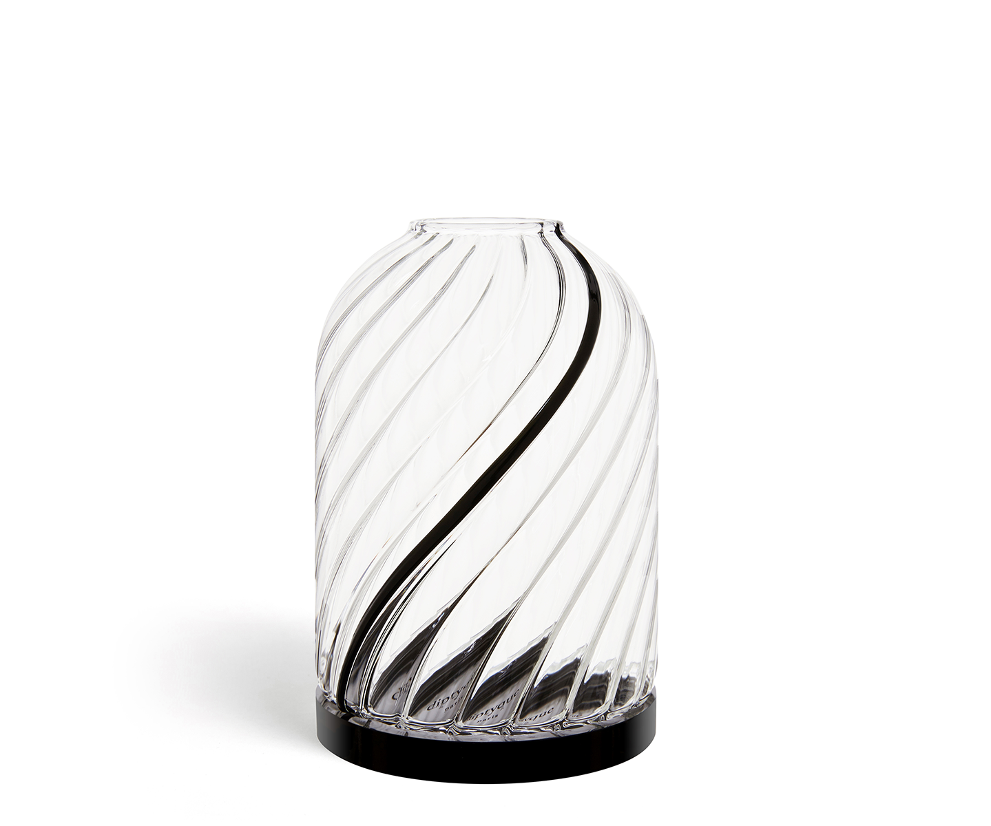 Studio Jean Marc Gady glass candle holder for mini candles