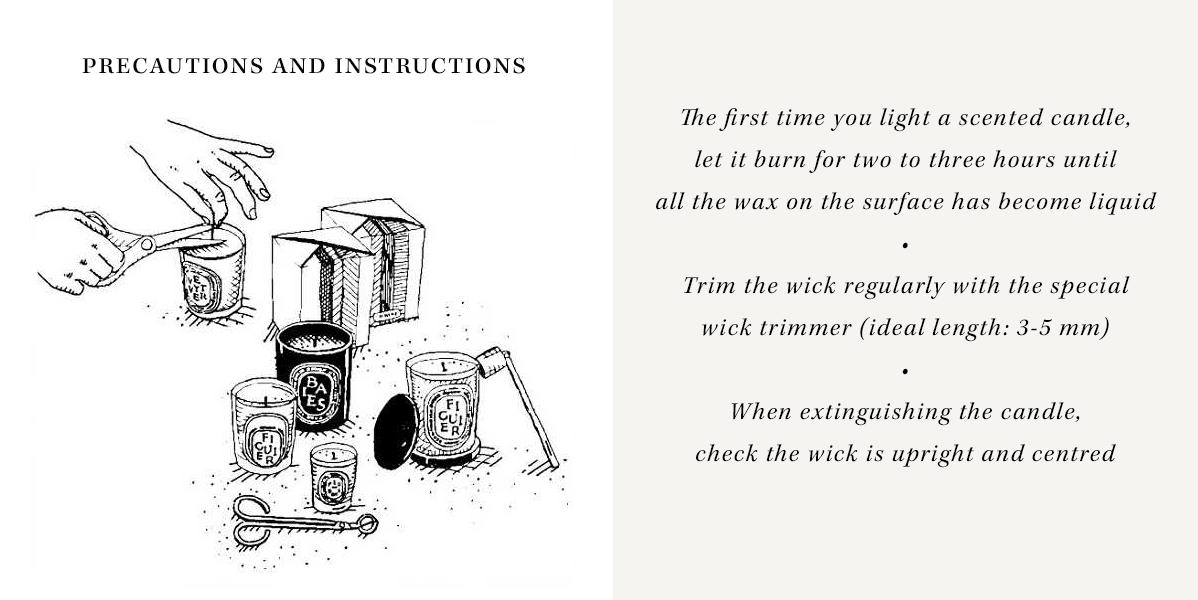 Precautions and Instructions
