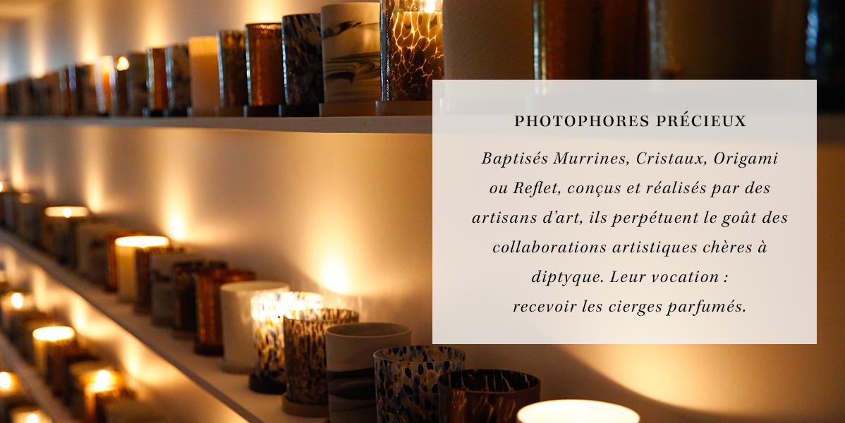 Photophores précieux